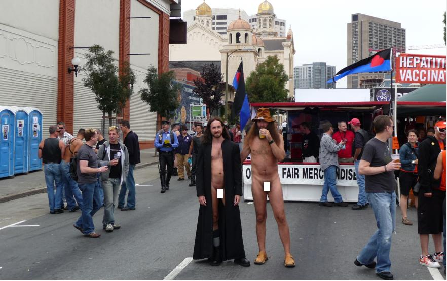 Nudity Fills San Francisco Streets again as Cops Look on and Do Nothing at ...