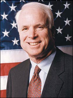 Senator mccain gay issues