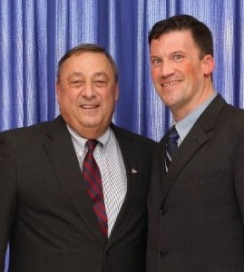 Governor Paul LePage and Mike Hein