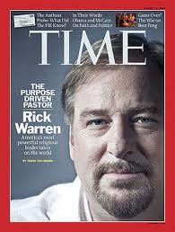 Something is. rick warren and homosexuals