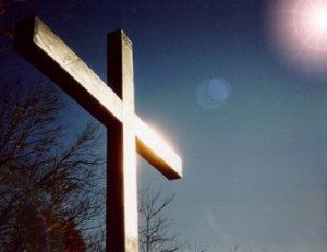 """""""But God demonstrates His own love for us in this: While we were still sinners, Christ died for us."""" (Romans 5:8)"""