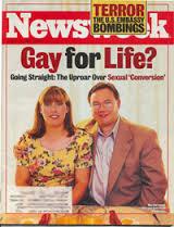 John and Anne Paulk on the cover of Newsweek in 2000.