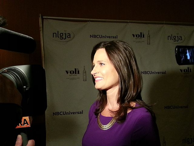 "MSNBC anchor Contessa Brewer, a strong ally of the NLGJA, directly compared opponents of homosexuality to racists. ""When we're talking about racism, nobody ever says, 'Do you think there's fair coverage for racists?'"" she told America's Survival in an impromptu interview at the March NLGJA fundraiser in New York City."