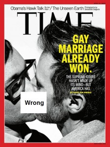 If history is a judge, the United States of America, awash in sexual immorality, is a civilization in decline. We have placed our commentary on the obnoxious recent TIME magazine cover that aimed to desensitize Americans to the perversion of homosexuality.