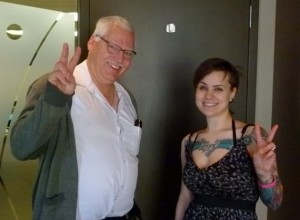 "Canadian pro-life and pro-family activist Bill Whatcott poses for photo with anti-""intolerance"" activist Brookes, who is working to keep AFTAH's Peter LaBarbera out of Canada."