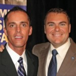 Carl DeMaio (right) with his homosexual love, Johnathan Hale.