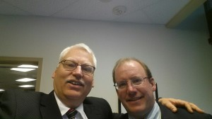 Canadian pro-family activist Bill Whatcott and AFTAH's Peter LaBarbera.