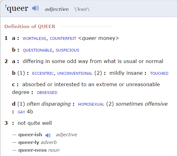 Queer-Definition_Merriam-Webster