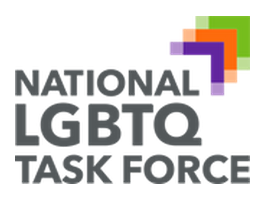 "Above is the new logo of the grassroots leftist ""gay"" organization formerly known as the ""National Gay and Lesbian Task Force."" The ""Q"" stands for ""Queer."""