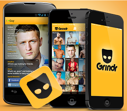 Grindr--Sodomy Finder: Grindr is a phone app used by four million homosexual men that uses GPS to facilitate them finding a sodomy partner nearby--literally telling them how many feet away he is.