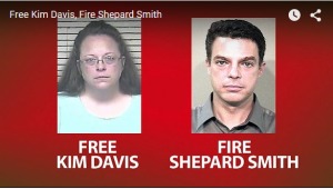 Fox News' Shep Smith Joins the Kim Davis-hating Left: