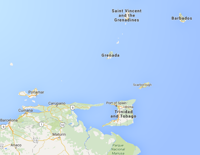 The dual-island nation of Trinidad & Tobago is north of Venezuela, and south of Grenada--which was liberated by President Ronald Reagan in 1983. Pastor Morris Johnson's Old Time Gospel Hour airs out of