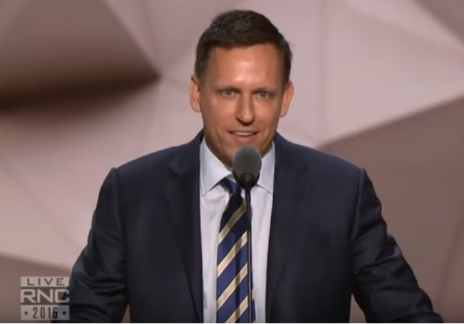 """Fake"" Culture Wars? Homosexual Republican and PayPal founder Peter Thiel got a prime-time slot to address the Republican convention and used it to belittle the pro-family ""culture wars"" and campaigns against ""transgender rights."""